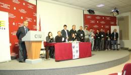 Mimarlar Odası 50. Genel Kurulu UKÜ Çevik Uras Konferans salonunda gerçekleştirildi.