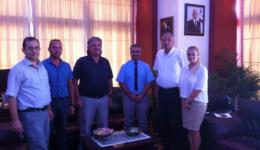 Girne Belediye Başkanı Nidai Güngördü Ziyareti.