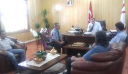 Mimarlar Odası Başkanı ve Yönetim Kurulu Üyeleri, Sağlık Bakanı Sn. Ahmet Gülle ile görüştüler.