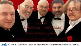 Platondan Sokrates'in Savunması adlı Okuma- Söyleşi Tiyatrosu