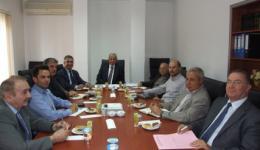 2 Nisan 2013 Salı günü YÖDAK Başkanı Prof. Dr. Sayın Hasan Ali Bıçak, Mimarlık Fakültesi Dekanları ve Mimarlar Odası Yönetim Kurulu ile toplantı yapılmıştır.